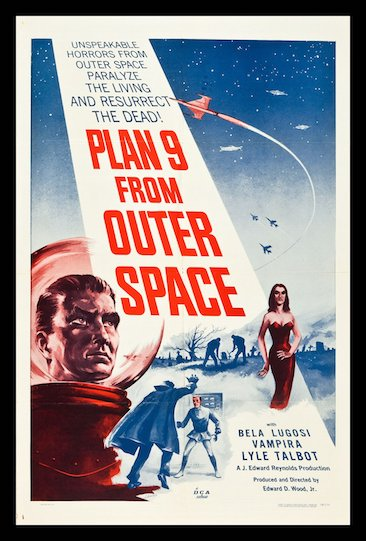 Episode 615 - Plan 9 From Outer Space (1959)