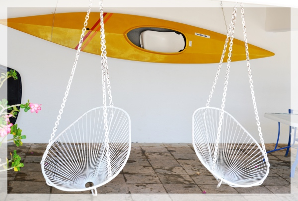 Sillas y Kayak