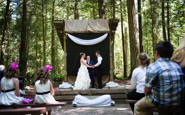 Wedding in Porpoise Bay Park