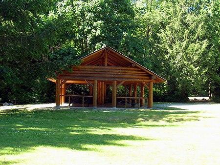 Shelter in Porpoise Bay Park