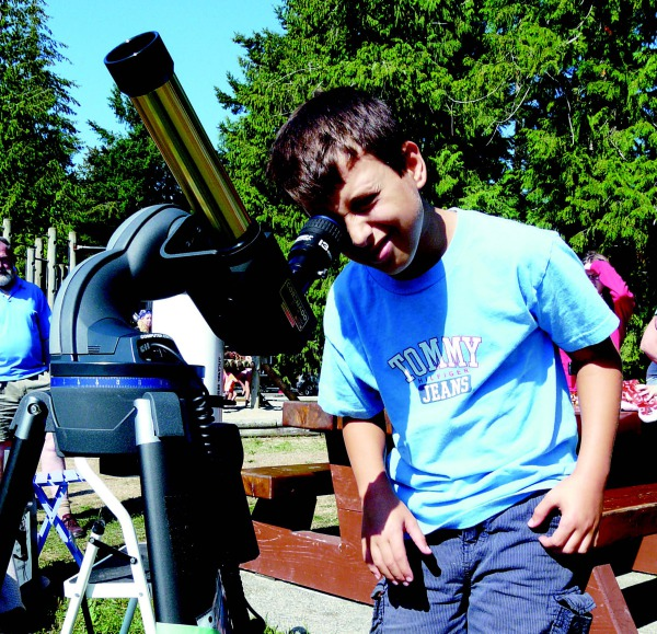 Astronomy Presentation at Porpoise Bay Park