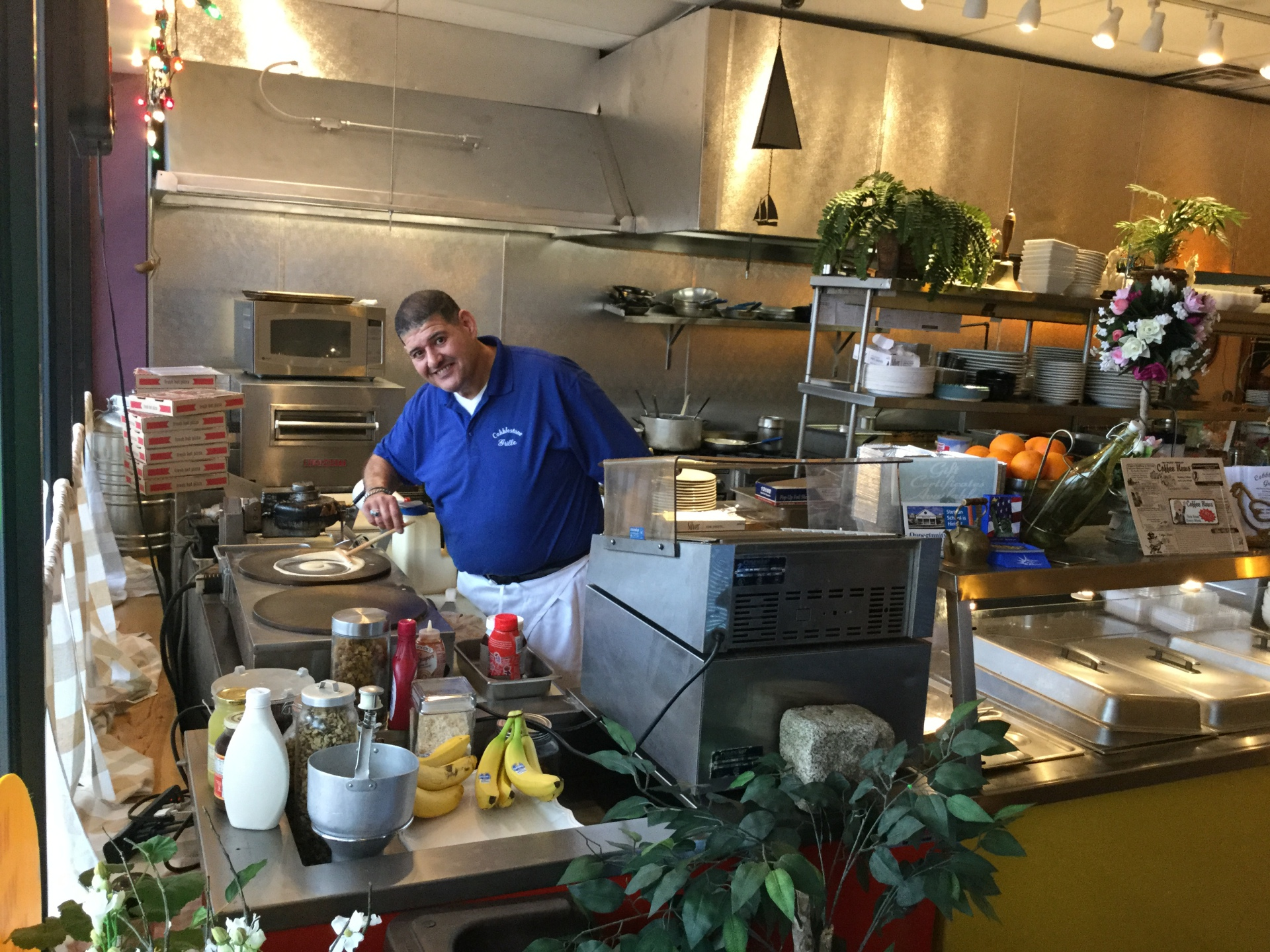 Meet Bob Rizk owner @ Cobblestone Grille, Fitchburg
