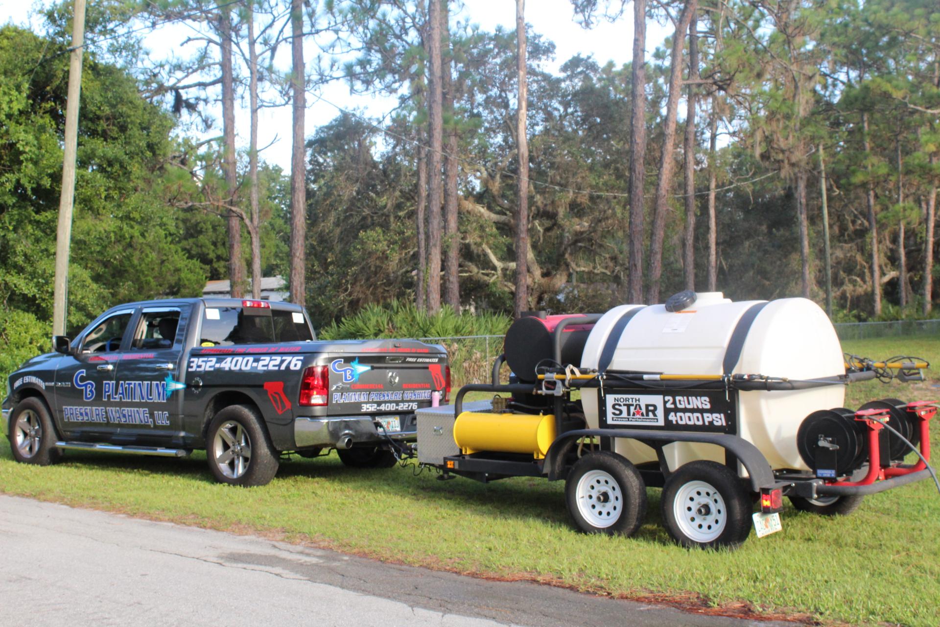 Ocala Citrus County FL Pressure Washing Power Washing