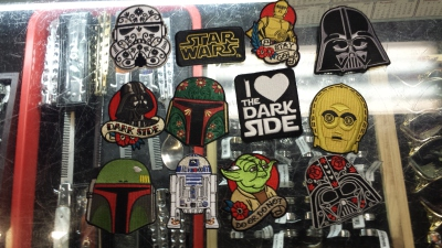 Star Wars Patches, customize your jackets with Star Wars Patches.