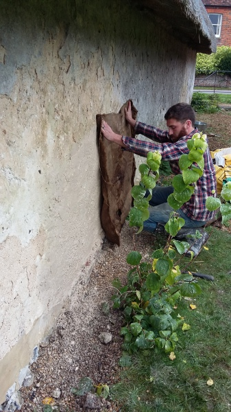 Cob Wall Repair