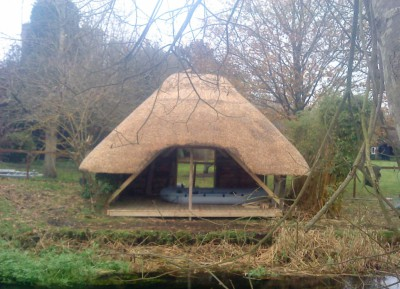 Thatched Boat House