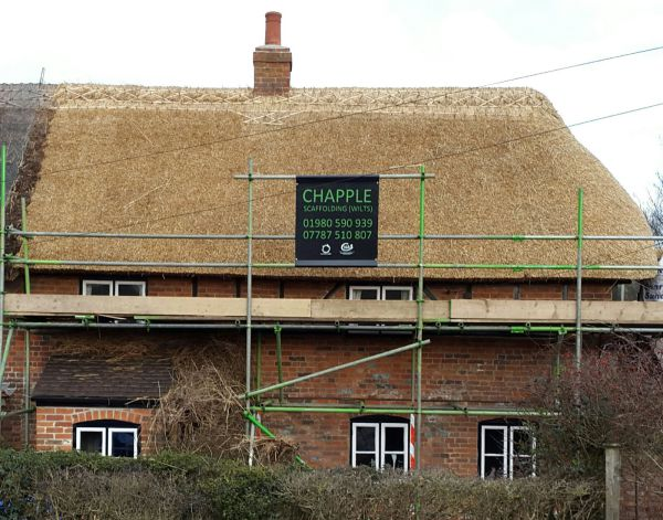 Thatched House Ian Greenland Master Thatcher