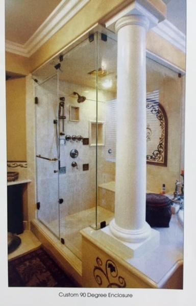 Semi-Framed Shower Enclosure