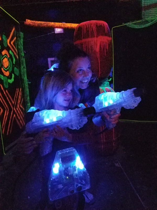 lasertag arena fun game