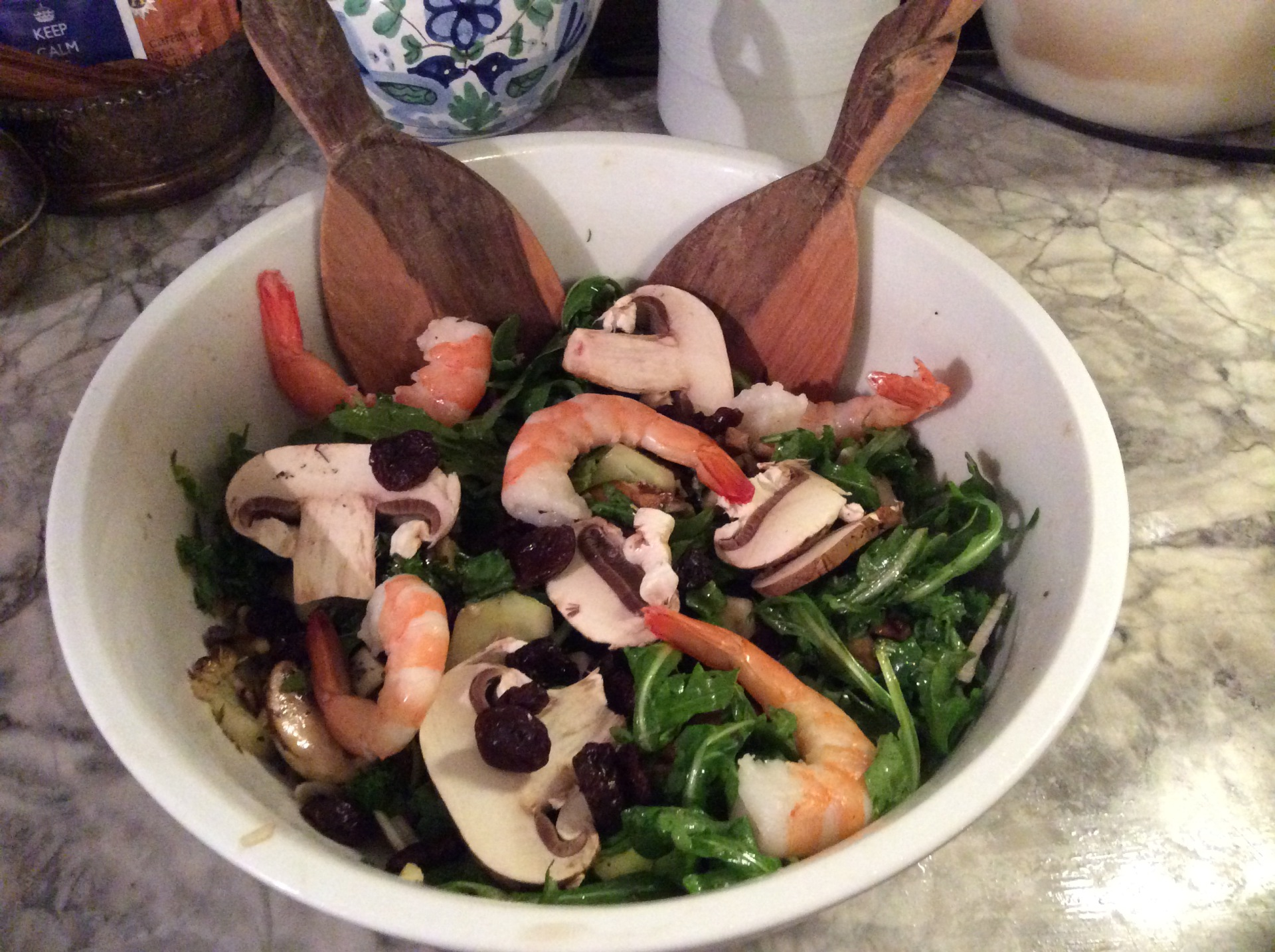 Mermaid salad