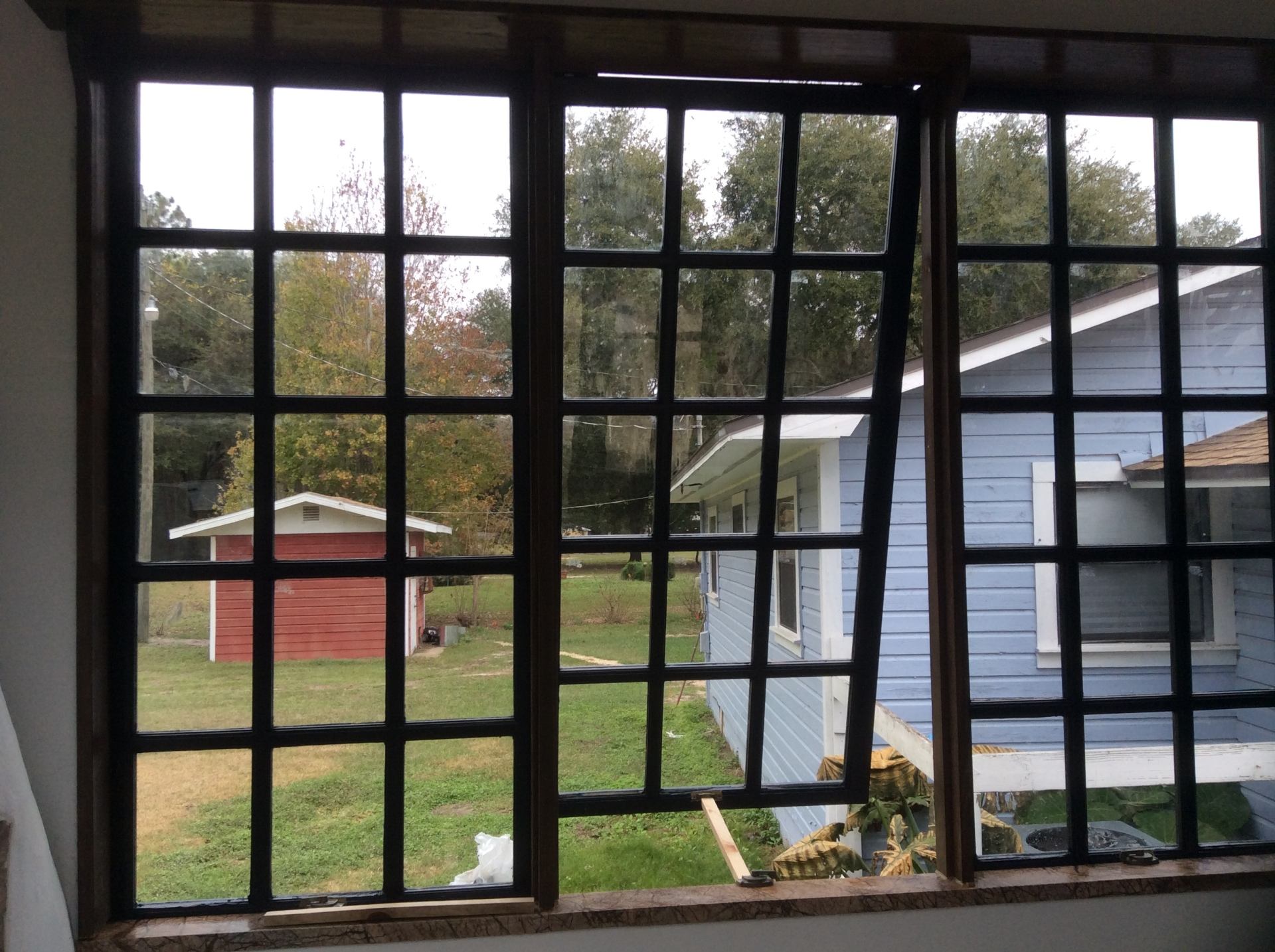 Living space windows