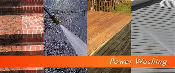 power washing cleaning restoration