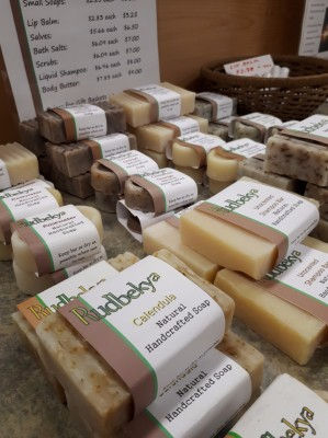 handmade soaps and skin care