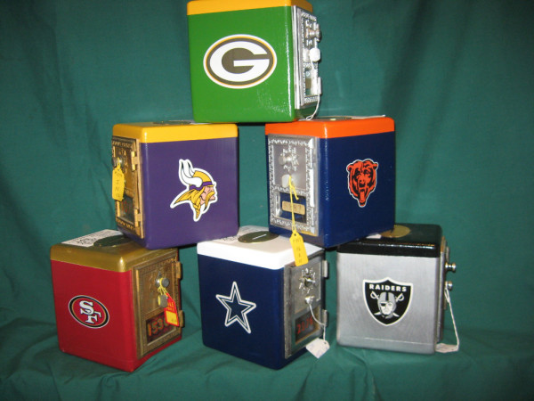 NFL Post Office Box Banks Assorted Teams $50/Each