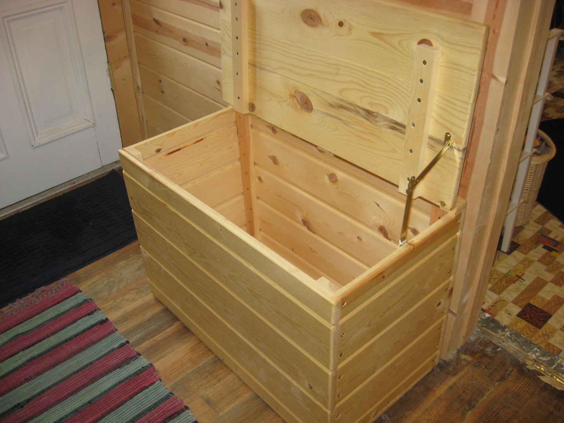 Wooden Toy or Storage Box $125