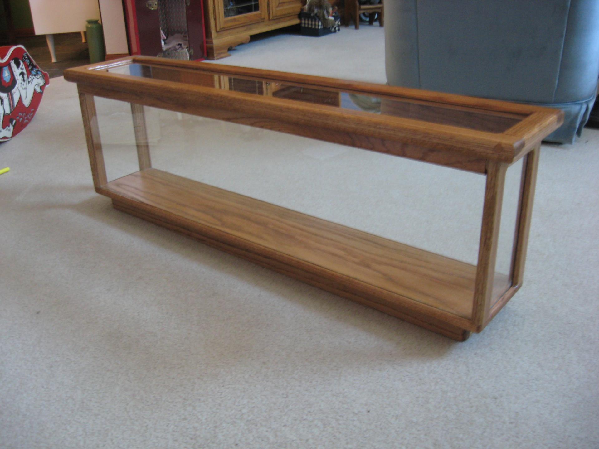 Glass Cabinet $275