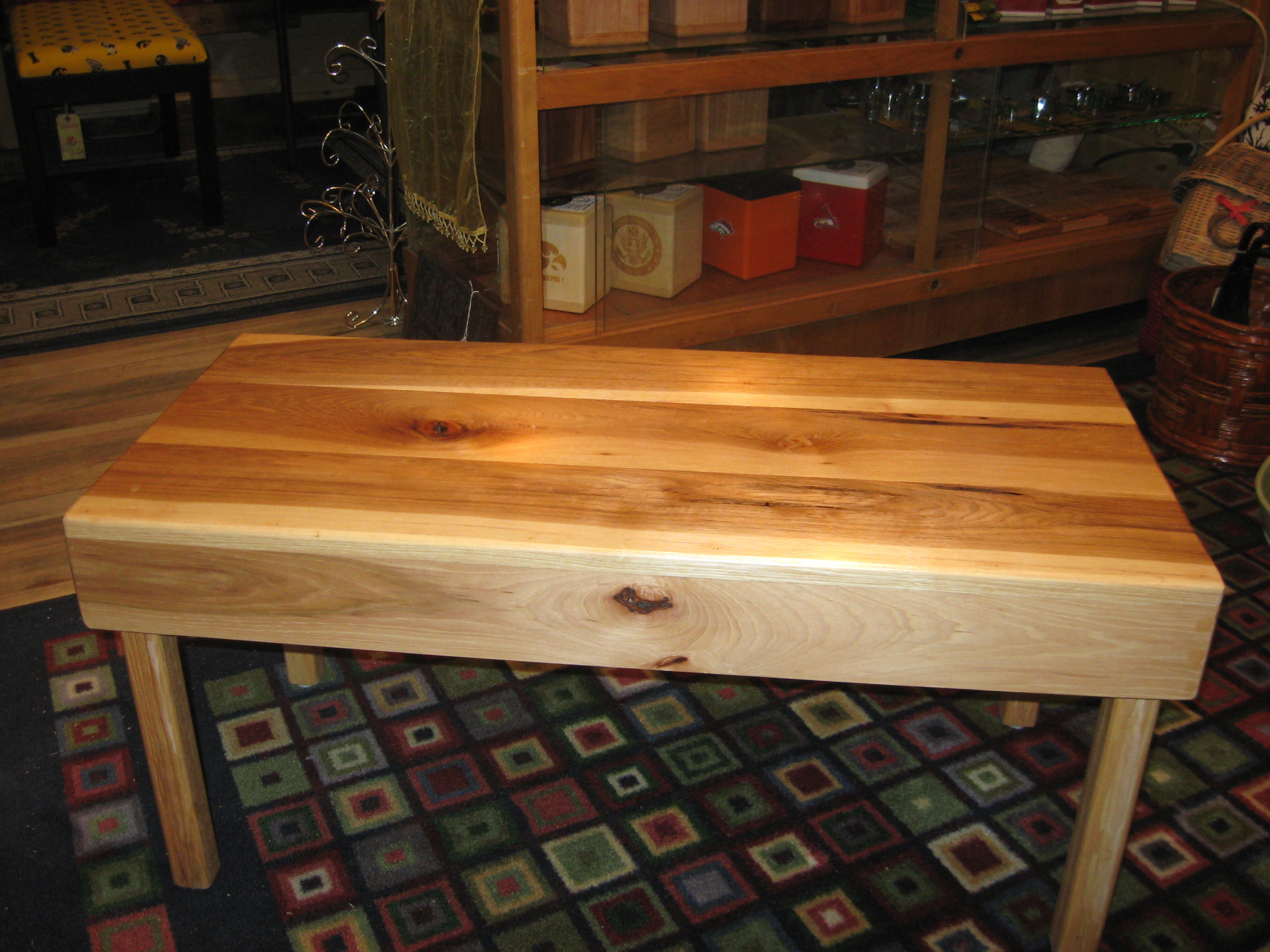 Hickery Bench (Call for Customized Quote)