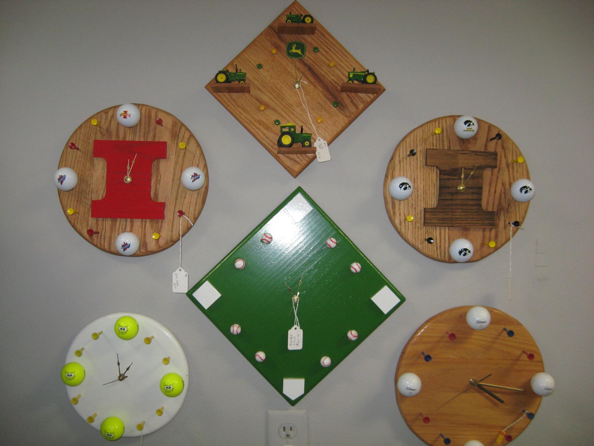 Assortement of Clocks $35