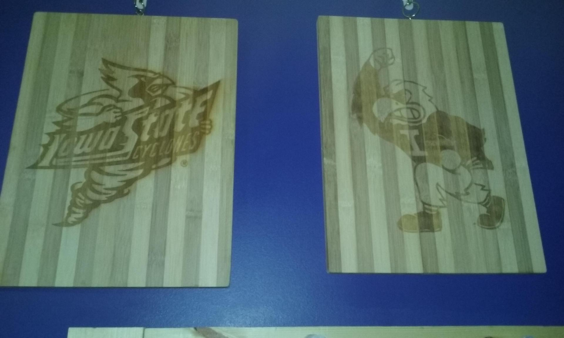 Engraved Cutting Boards $40 Each