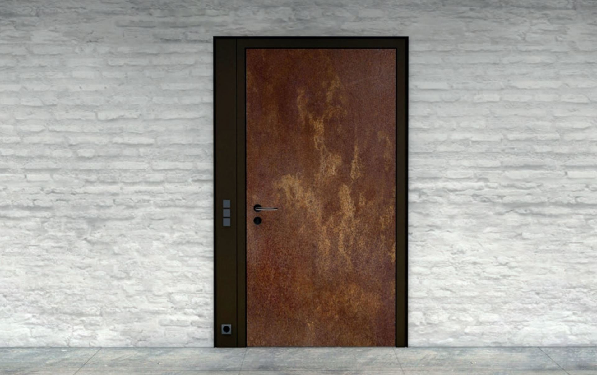 Performance Steel Door frame solutions with Lewis Aldridge Doors.