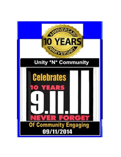 UNITY IN THE COMMUNITY CAMPAIGNS 10 Year Anniversary 2014