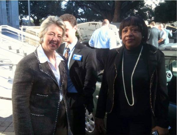 Houston former Mayor, Annise Parker & T.L. Hester