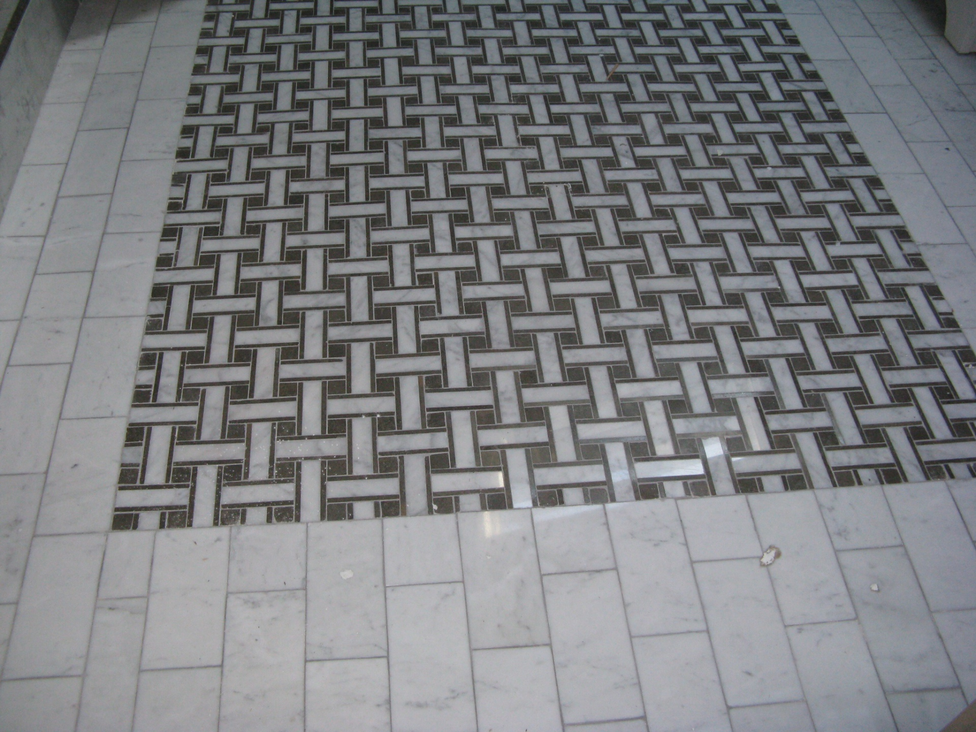 Tile work, bathroom remodel