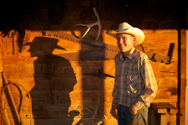 Ben Pat Kimball, 14, CV Ranch, Paulden AZ