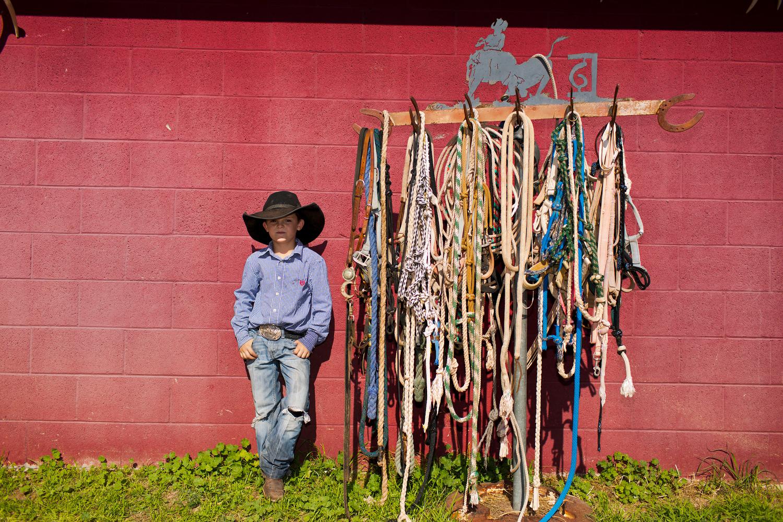 Cutter Lewis,6,  CV Ranch, Paulden AZ