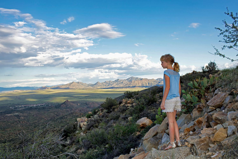 Devyn Blackmore, 10, Blackmore Ranch, Hillside AZ