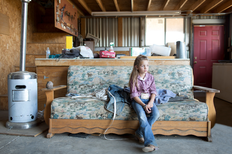 Tylar Blackmore, 8, Blackmore Ranch, Hillside AZ