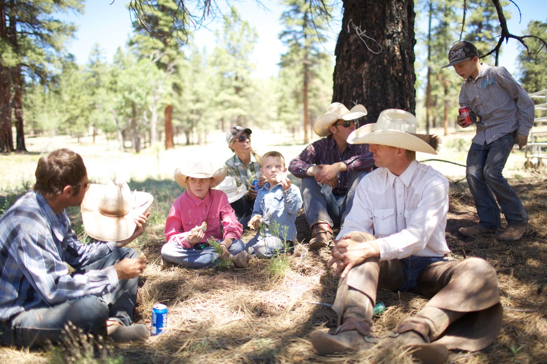 Round-Up, Family Picnic, Vallee, AZ