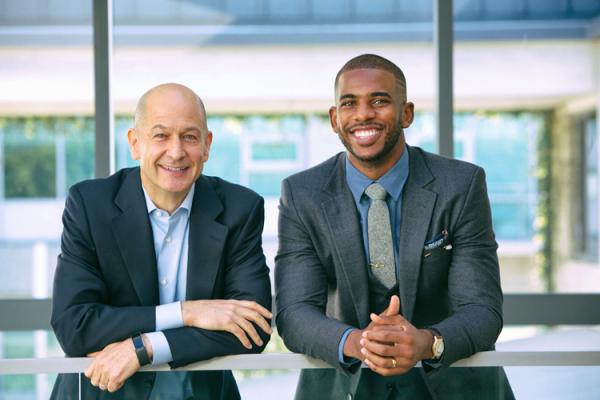 business portrait of two men