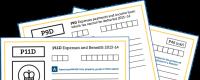Forms P11d