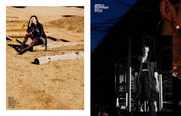 【Femina China】September fashion Issue. Editorial.
