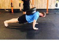 Eccentric Pushup Variation for Chest Size and Strength
