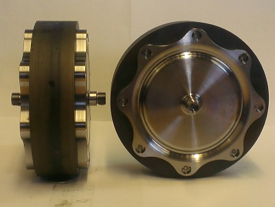 Steel rotors for laminated flywheel prototype