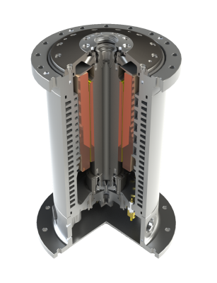 high speed motor render