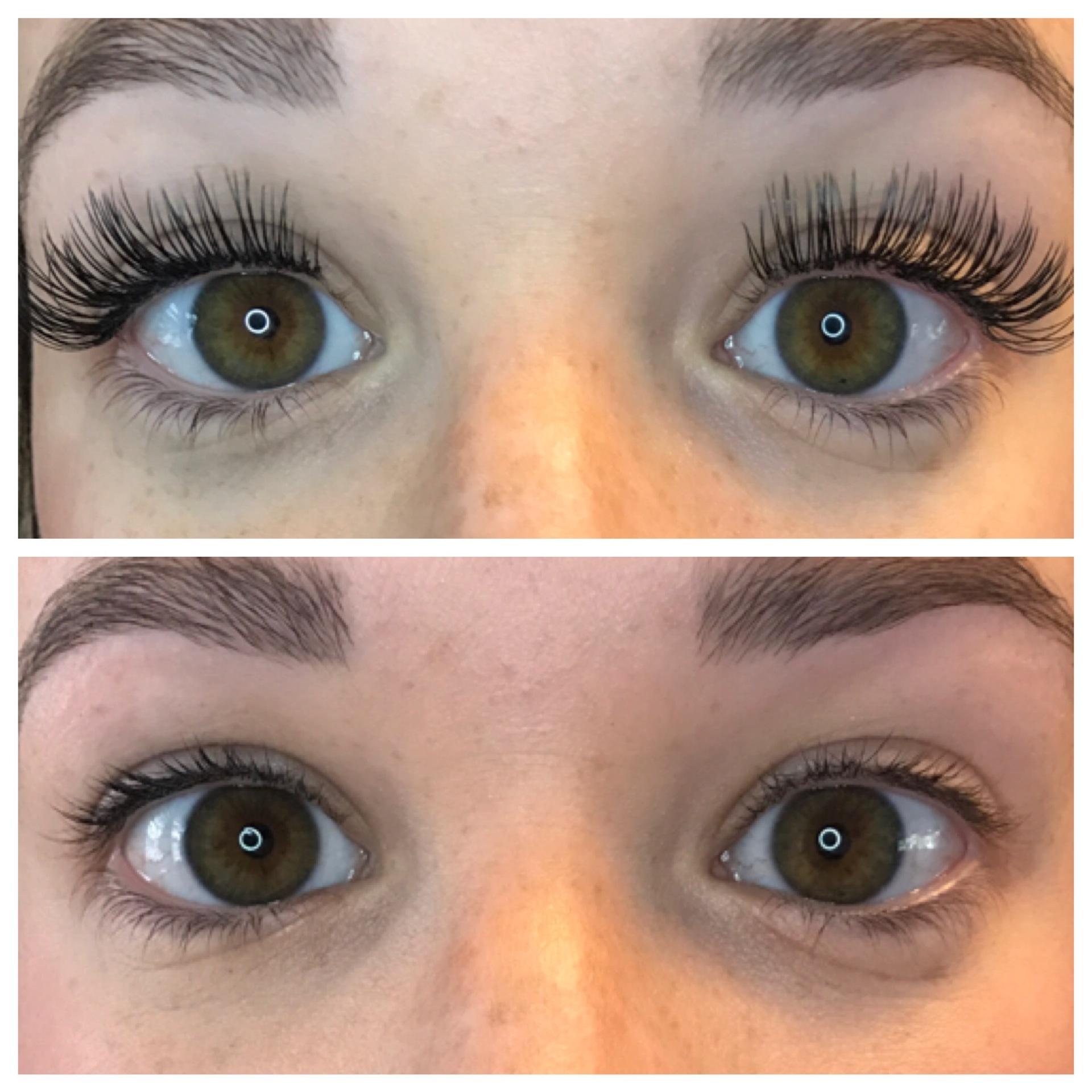 Eyelash extensions, Permanent eyeliner
