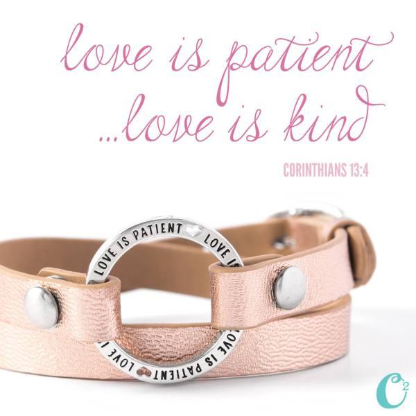 Love is Patient Wrap