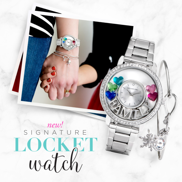 Signature Watch in Silver