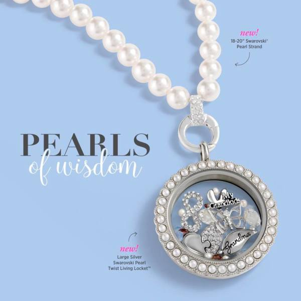Summer Pearl Locket with Pearl Necklace