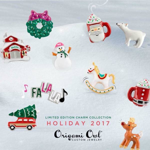 Holiday 2017 charms