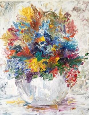 may [ooak] - 16 x 20 - oil - $215