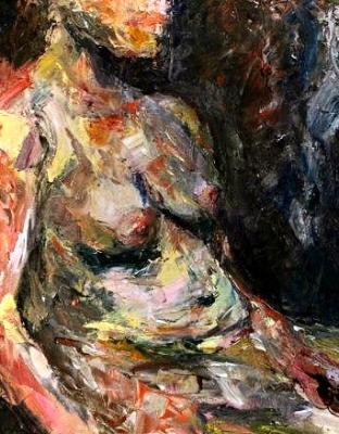 figure study - 16 x 20 - oil -  $325