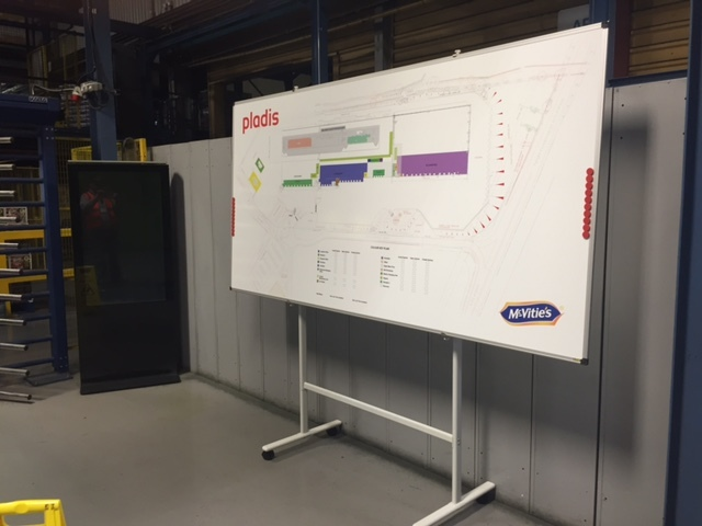 Magnetic Printed Whiteboard