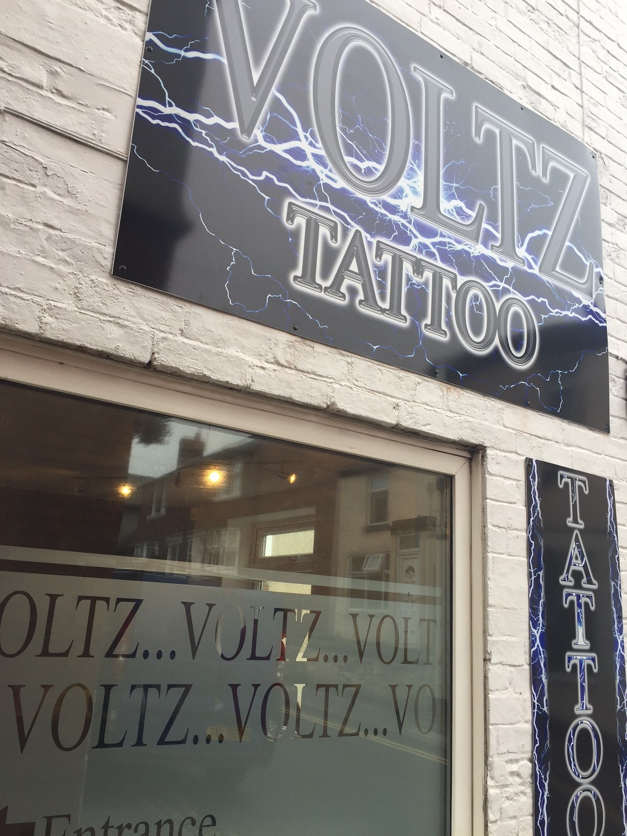 Shop Signage and Window Frosting