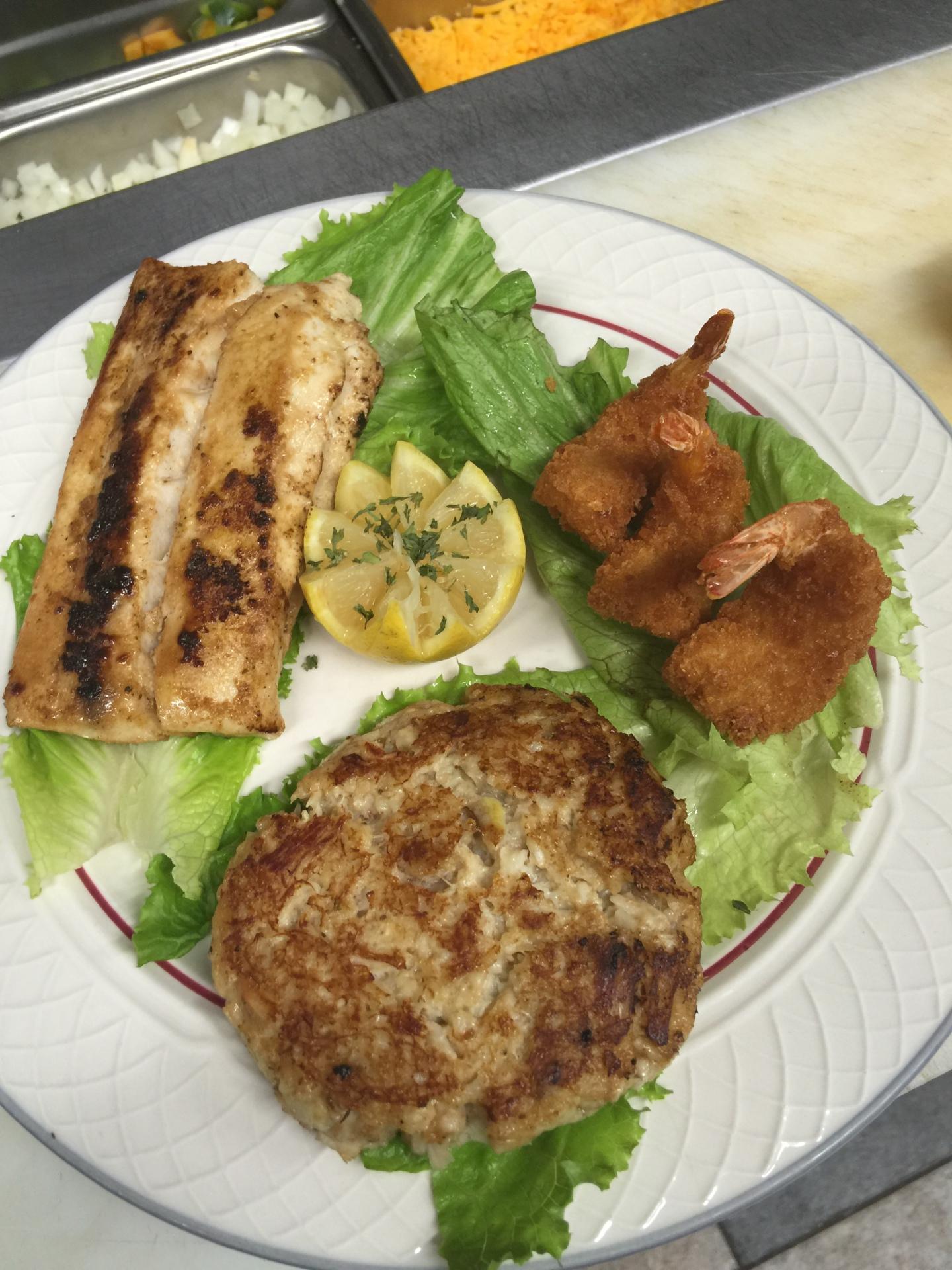 Seafood Trio