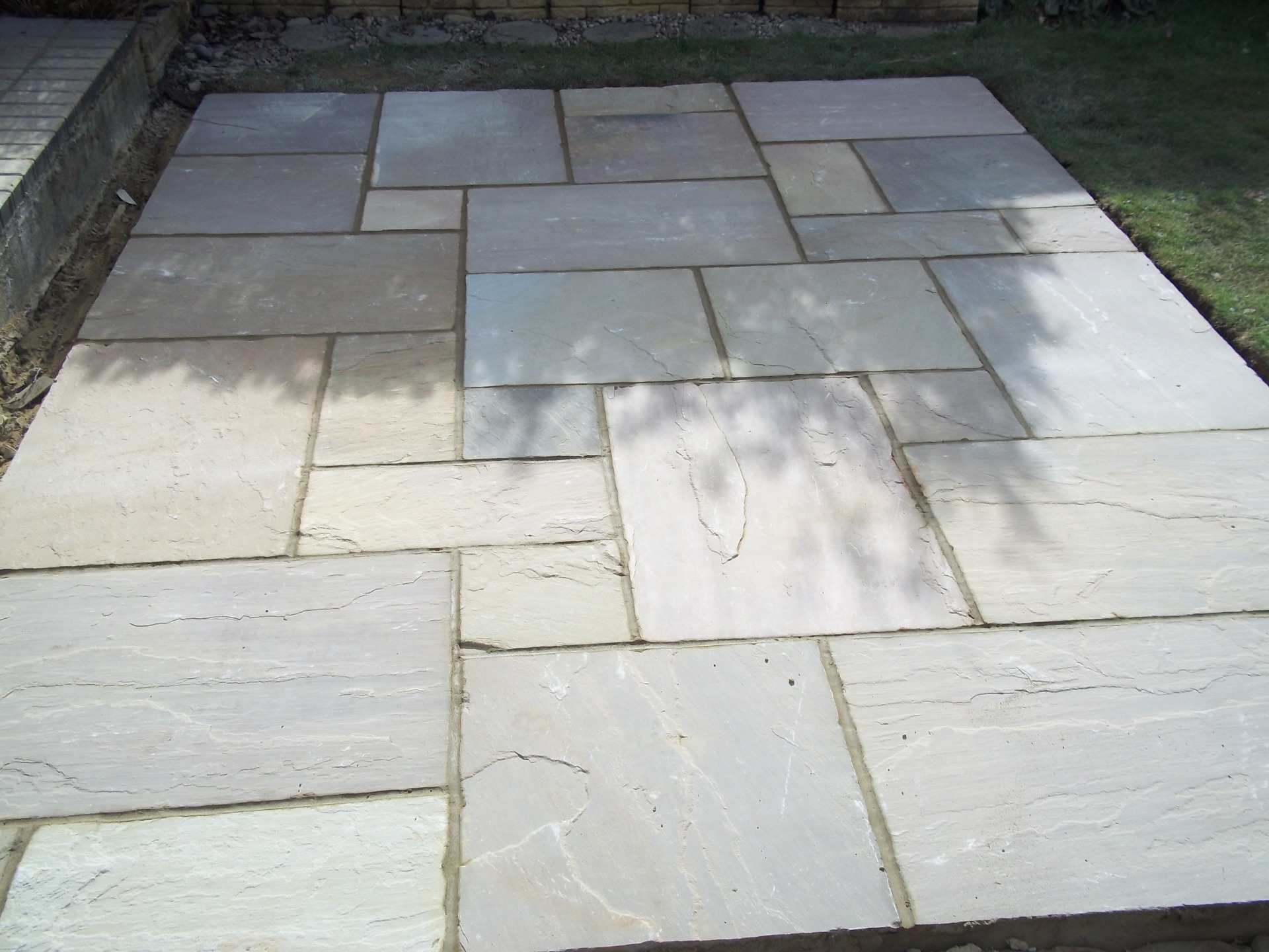 York paving patio.
