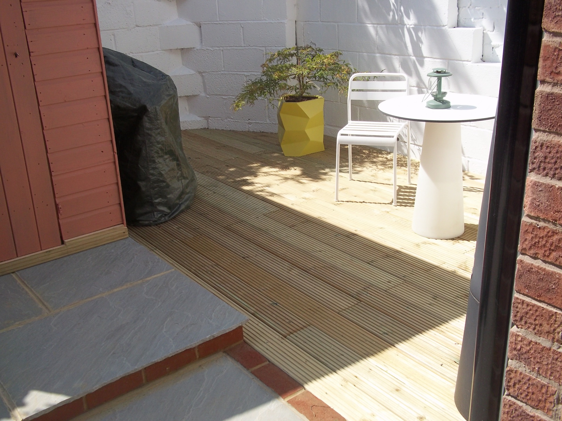 Patio & decking area.